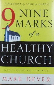 Image for Nine Marks of a Healthy Church.