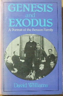 Image for Genesis and Exodus - a portrait of the Benson family.