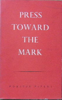 Image for Press Toward the Mark.