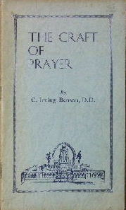 Image for The Craft of Prayer.