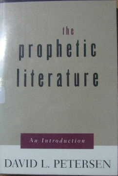 Image for The Prophetic Literature - an introduction.