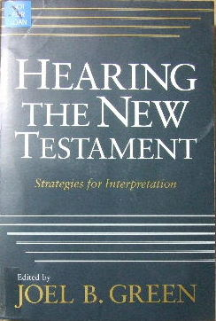 Image for Hearing the New Testament  Strategies for interpretation