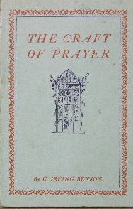 Image for The Craft of Prayer  A little book on how to master the art of praying