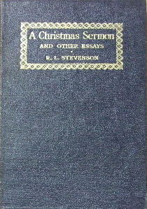 Image for A Christmas Sermon and other essays.