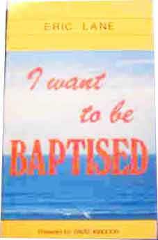 Image for I Want to be Baptised.