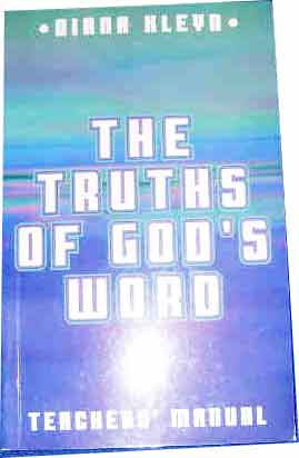 Image for The Truths of God's Word  Teachers Manual for the catechism booklet, The Truth of God's Word in simple questions and answers for children