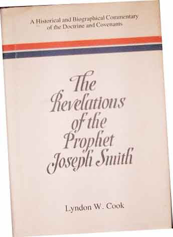 Image for The Revelations of the Prophet Joseph Smith.