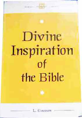 Image for Divine Inspiration of the Bible.