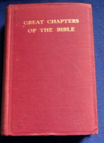 Image for Great Chapters of the Bible.