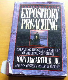 Image for Rediscovering Expository Preaching.