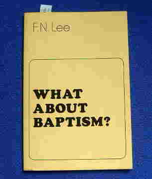 Image for What About Baptism?