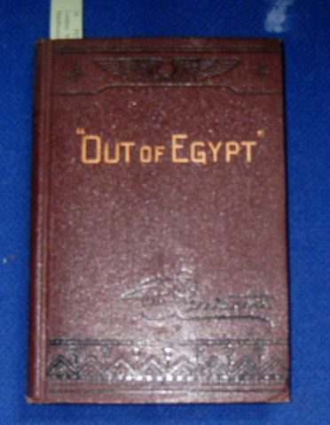 "Image for ""Out of Egypt"".  Bible Readings on the Book of Exodus"