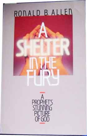 Image for A Shelter In The Fury  A Prophet's Stunning Picture Of God