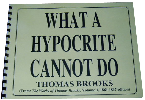 Image for What a Hypocrite Cannot Do.