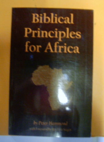 Image for Biblical Principles for Africa.