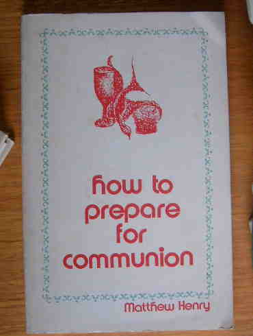 Image for How To Prepare for Communion.