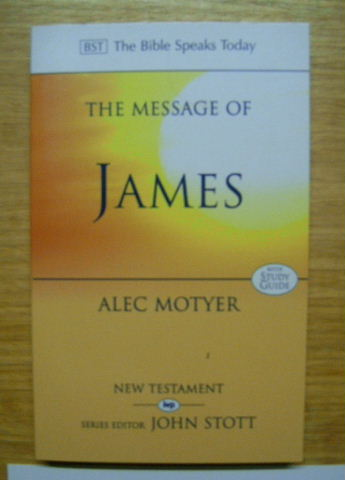 Image for The Message of James  The Tests of Faith