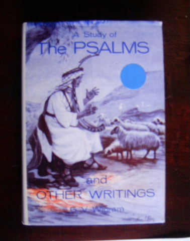 Image for A Study of the Psalms  and Other Papers