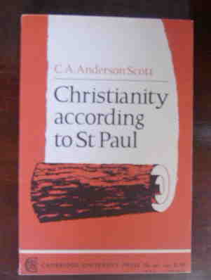 Image for Christianity According to St Paul.