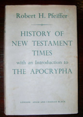 Image for History of New Testament Times  with an Introduction to the Apocrypha