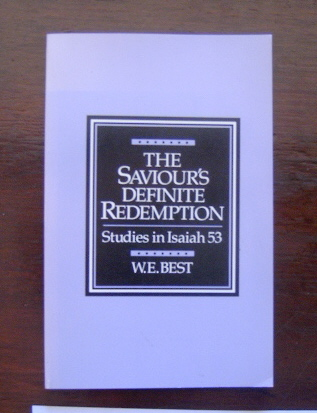 Image for The Saviour's Definite Redemption  Studies in Isaiah 53