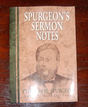 Image for Spurgeon's Sermon Notes.