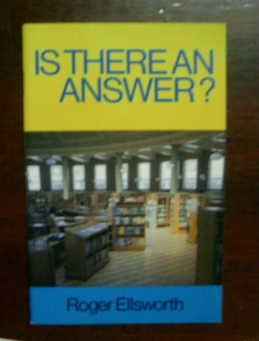 Image for Is There An Answer?