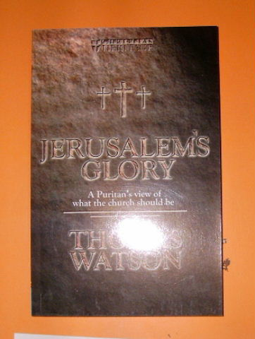 Image for Jerusalem's Glory: A Puritan's View of the Church.