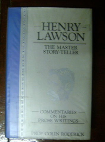 Image for Henry Lawson: The Master Story-Teller.
