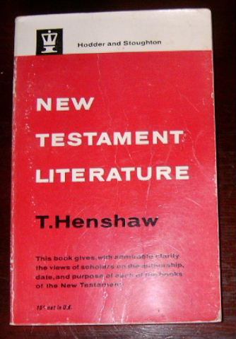 Image for New Testament Literature  In the Light of Modern Scholarship