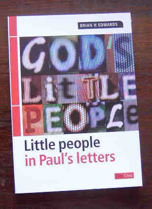 Image for God's Little People-In Paul's Letters.