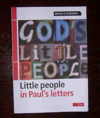 Image for God's little people in Paul's letters.