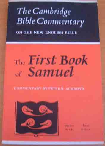 Image for The First Book of Samuel  (Cambridge Bible Commentaries on the Old Testament)