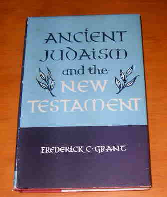 Image for Ancient Judaism and the New Testament.