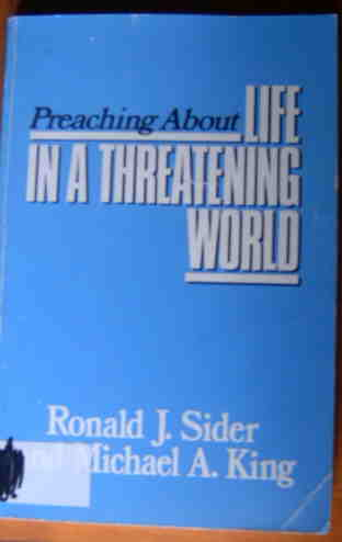 Image for Preaching About Life in a Threatening World (Preaching About Series).