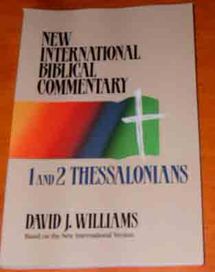 Image for 1 and 2 Thessalonians  New International Bible Commentary