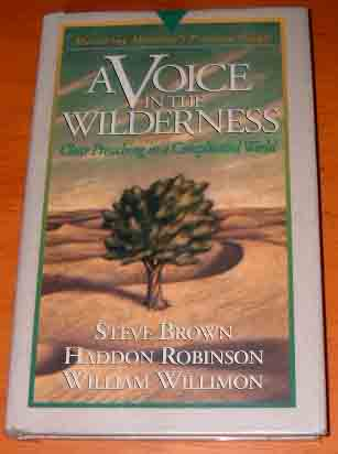 Image for A Voice in the Wilderness: Mastering Ministry (Pressure Points).