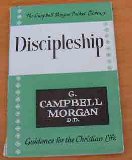 Image for Discipleship  (The Campbell Morgan Pocket Library)