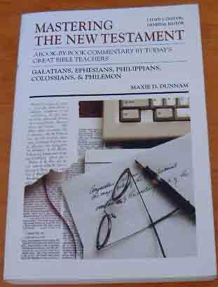 Image for Mastering the New Testament: A Book-by-Book Commentary (Galatians, Ephesians, Philippians, Colossians & Philemon).