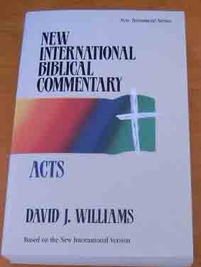 Image for Acts  New International Biblical Commentary