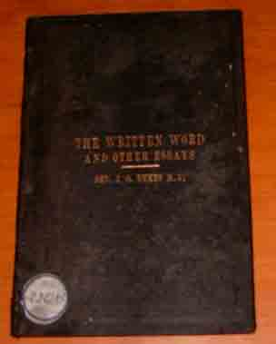 Image for The Written Word and Other Essays.