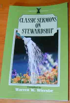 Image for Classic Sermons on Stewardship  (Kregel Classic Sermons Series)