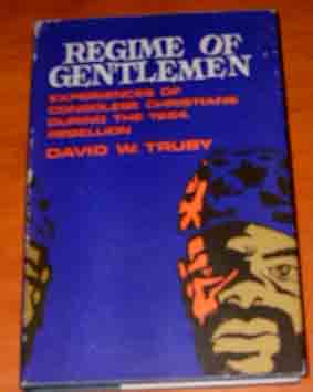 Image for Regime of Gentlemen. Personal Experiences of Congolese Christians During the 1964 Rebellion.