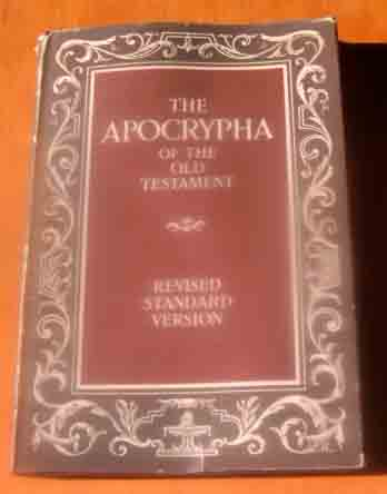 Image for The Apocrypha of the Old Testament.