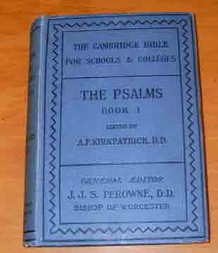 Image for The Book of Psalms: Book 1 Psalms I - XLI.