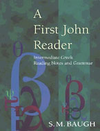 Image for A First John Reader: Intermediate Greek Reading Notes and Grammar.