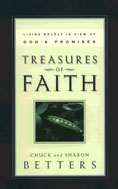 Image for Treasures of Faith: Living Boldly in View of God's Promises.