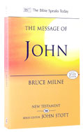 Image for The Message of John  The Bible Speaks Today