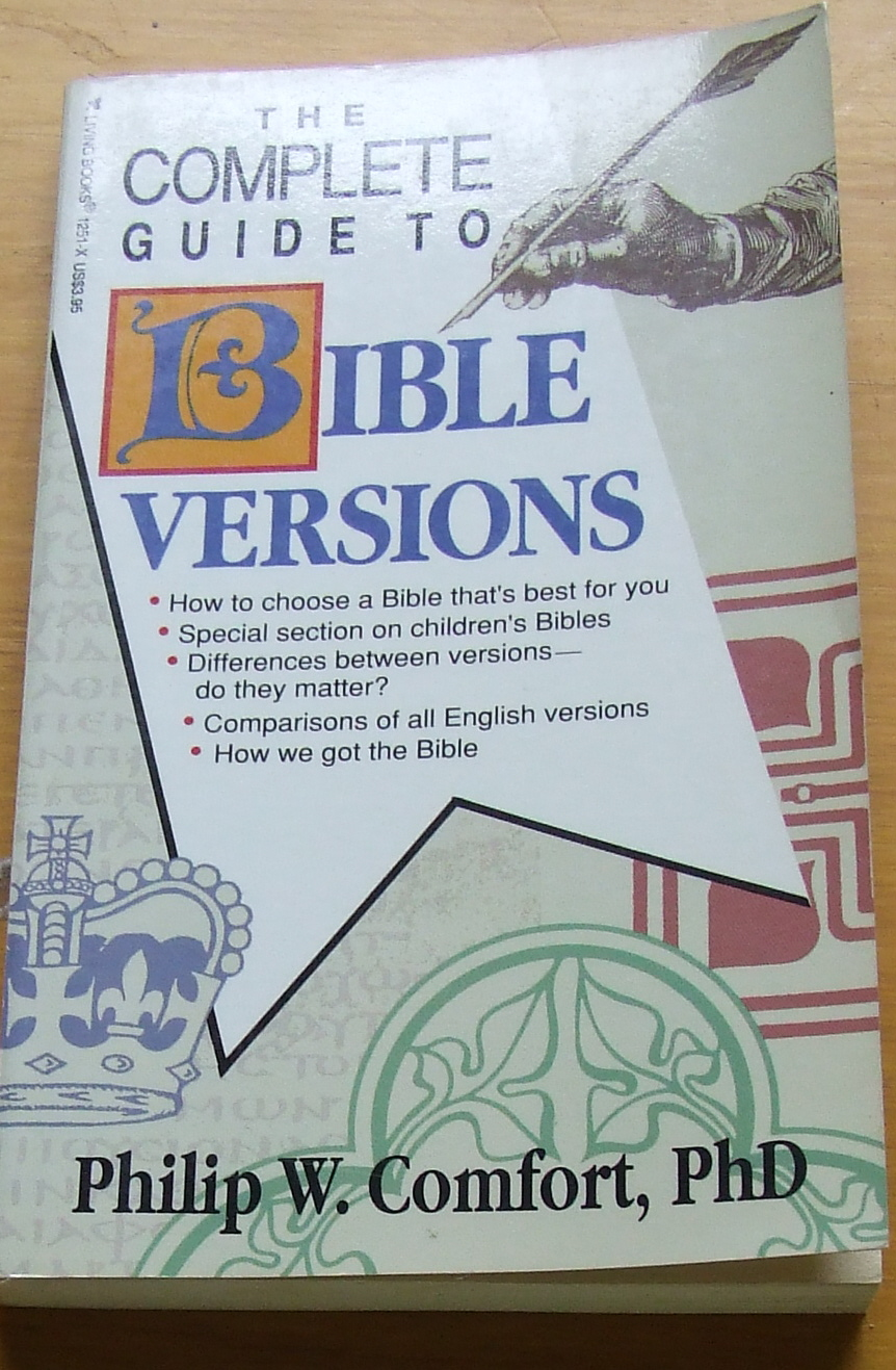 Image for The Complete Guide to Bible Versions.