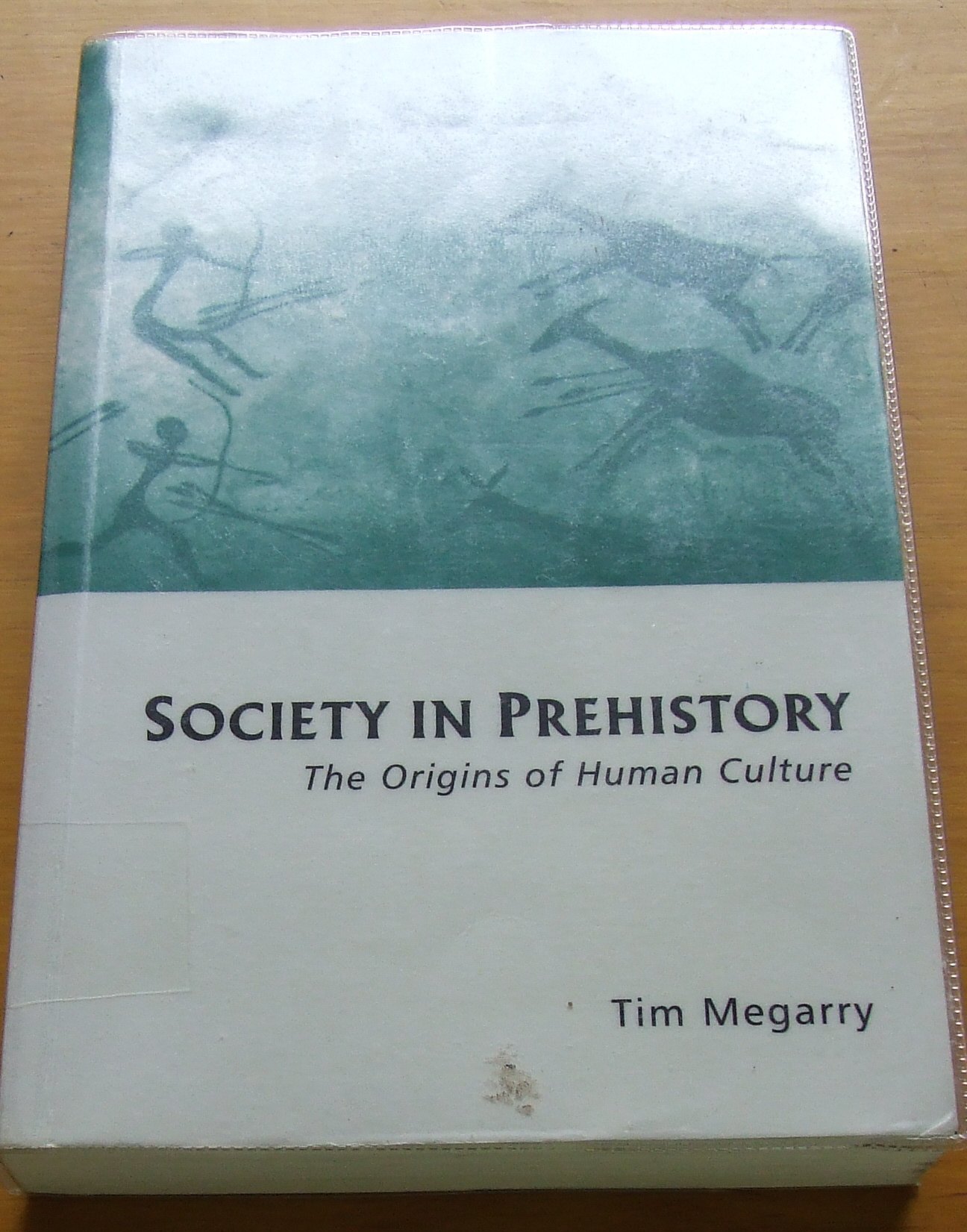 Image for Society in Prehistory: The Origins of Human Culture.